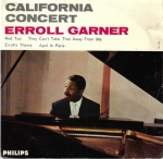 ERROLL GARNER – CALIFORNIA CONCERT