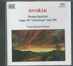 "DVOŘÁK - STRING QUARTETS, OPP.96 ""AMERICAN"" AND 106"