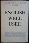 ENGLISH WELL USED