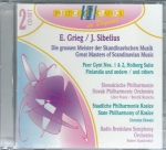 E. GRIEG / J. SIBELIUS - GREAT MASTERS OF SCANDINAVIAN MUSIC