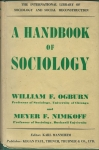 A HANDBOOK OF SOCIOLOGY