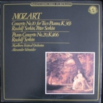 MOZART - CONCERTO NO.10 FOR TWO PIANOS, K.365