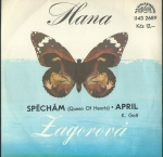 HANA ZAGOROVÁ – SPĚCHÁM, APRIL