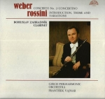 WEBER – CONCERTO NO. 2 / ROSSINI – INTRODUCTION, THEME AND VARIATIONS